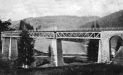 Pôvodný Viadukt pod Dielom